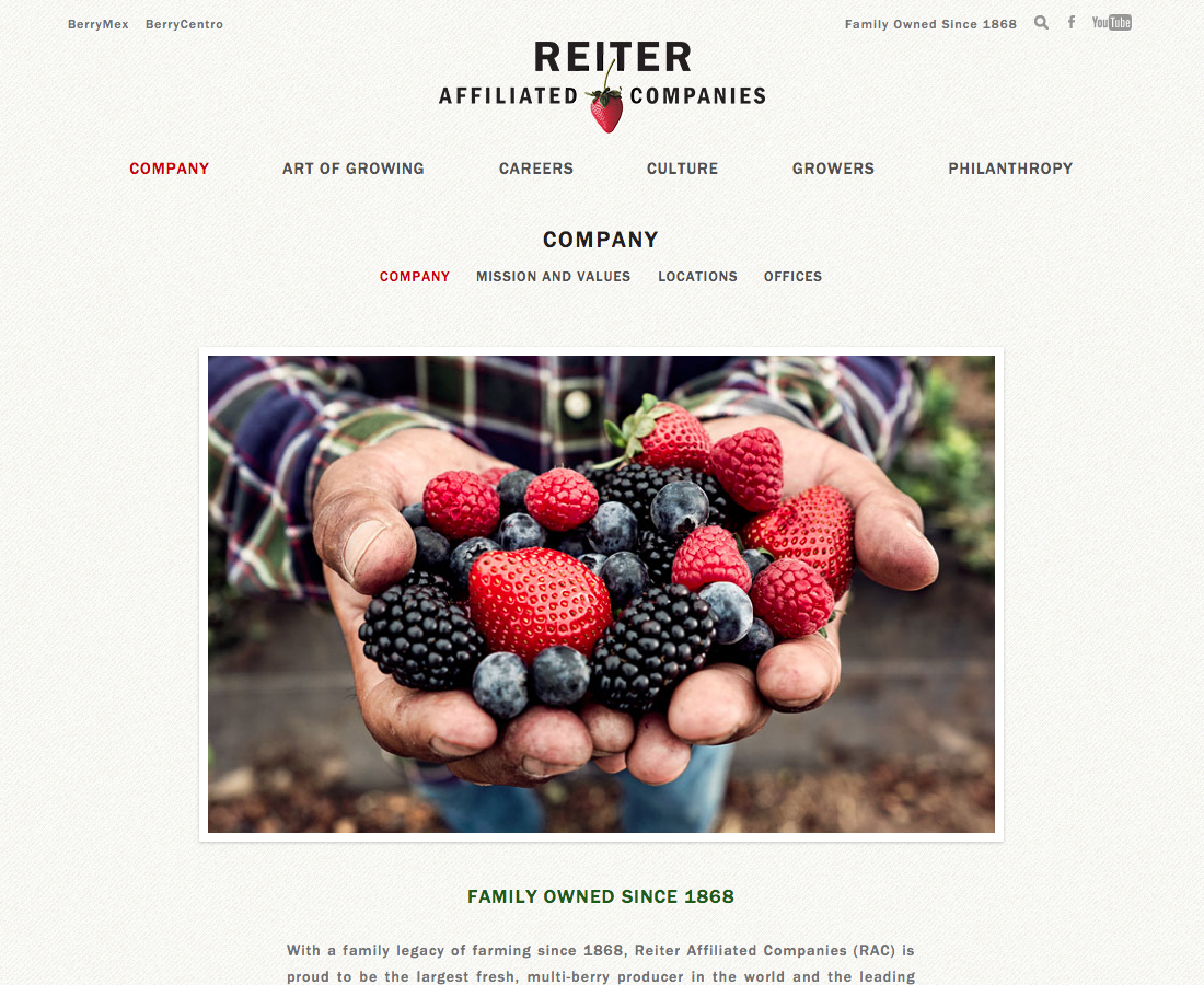 Company   Reiter Affiliated Companies