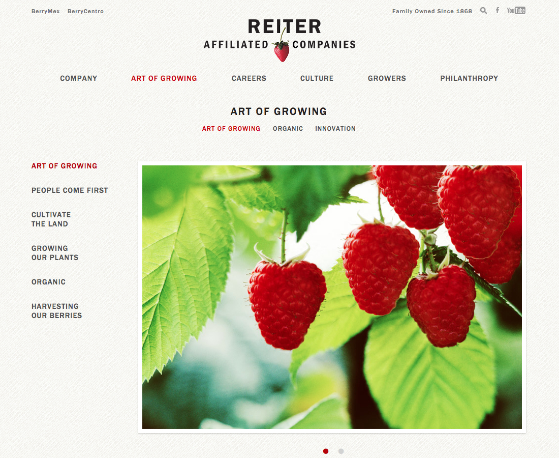 Art of Growing   Reiter Affiliated Companies